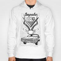 tame impala Hoodies featuring Chevy Impala by pakowacz