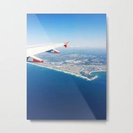 Flying Over Sunshine Coast, Australia #2 Metal Print