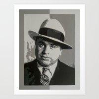 "Alphonse ""Scarface"" Capone Art Print"