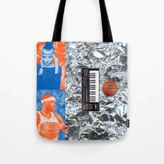 Carmelo Anthony & Grimes Blind Date Rainforest Cafe Leftovers 2014 Tote Bag