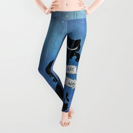Any Road Will Get You There - Alice In Wonderland Leggings