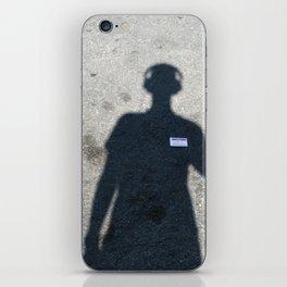 untitled self-portrait iPhone Skin
