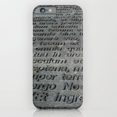 ground texture Slim Case iPhone 6s