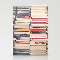 books Stationery Cards featuring Books  by Caroline Mint