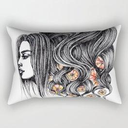 GIRLZ - ORANGES Rectangular Pillow