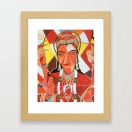 Durga Framed Art Print