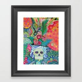 End of Her Beginning Framed Art Print