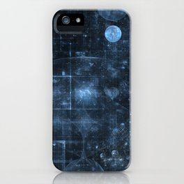 Space and Time iPhone Case