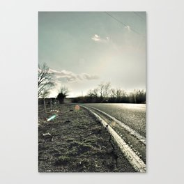 Road to Cele Canvas Print