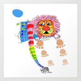 Your little animal Art Print