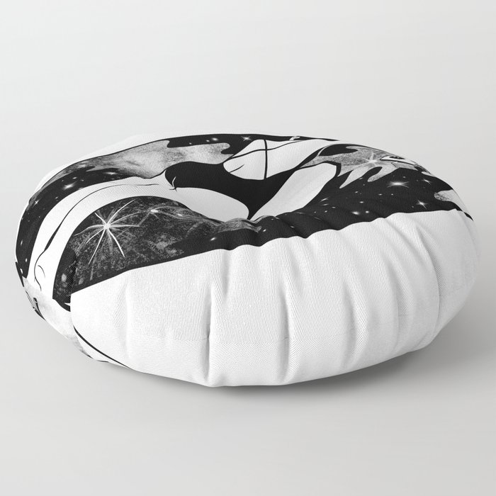 Don't stop the lullaby Floor Pillow