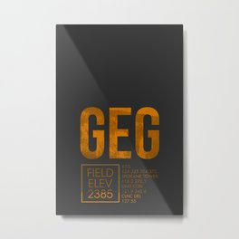 GEG II Metal Print