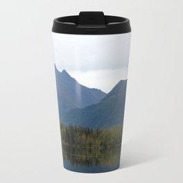 Fall Mountain Reflection Travel Mug