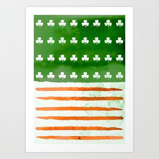 IrishAmerican Art Print