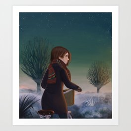 Morning frost Art Print