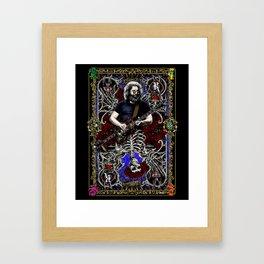 JERRY CARD Framed Art Print