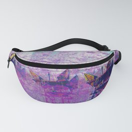 Stuck On Static Fanny Pack