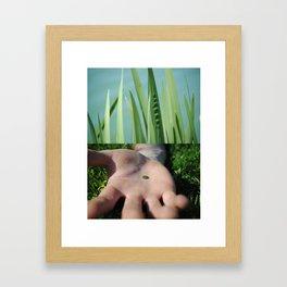 Green Indeed Framed Art Print