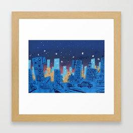 Talk Town USA Framed Art Print