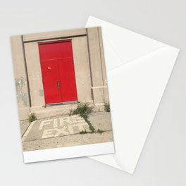 Fire Exit Stationery Cards