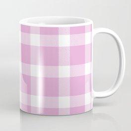 Plaid Soft Pink Coffee Mug