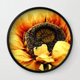 Sunflower A203a Wall Clock