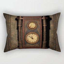 Steampunk Generator Bronze Rectangular Pillow