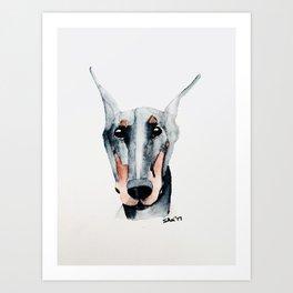 Shei's Dobbie Art Art Print