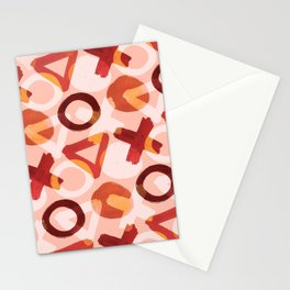 Shapes: Bright Stationery Cards