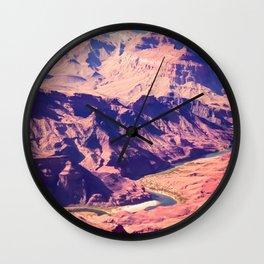 closeup desert at Grand Canyon national park, USA Wall Clock