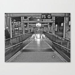 Old San Francisco Transbay Terminal Canvas Print