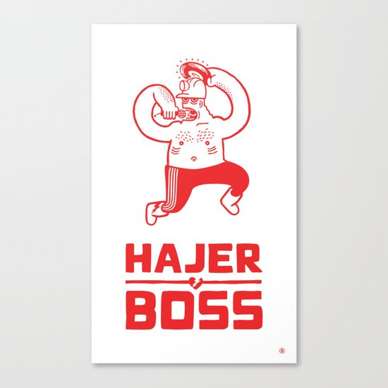 Hajer Boss Canvas Print