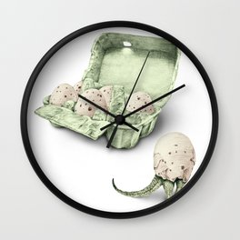 In which dinosaur eggs are hardly fit for human consumption  Wall Clock
