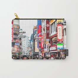 shibuya street sign in tokyo Carry-All Pouch