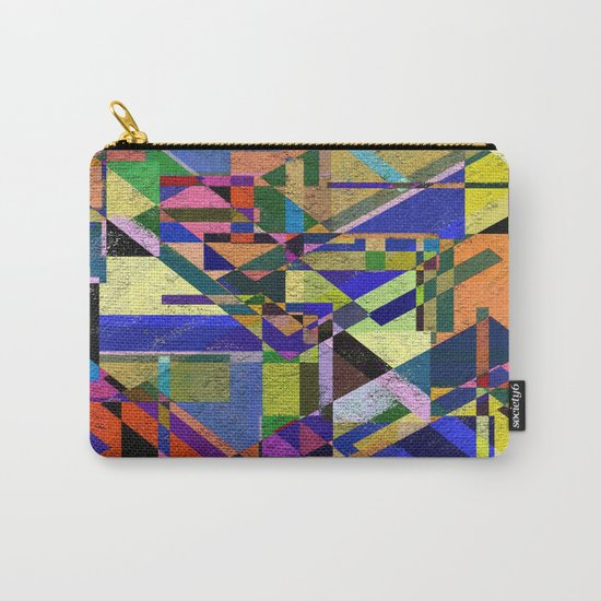 Geometric Wonder! Carry-All Pouch