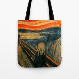 The Scream Edvard Munch Tote Bag