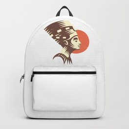 The last active ruler of the Ptolemaic Kingdom of Egypt, Cleopatra. Backpack