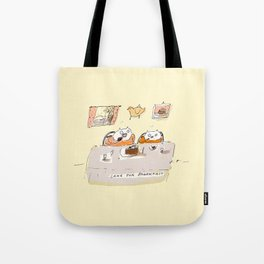 Cake for Breakfast Tote Bag