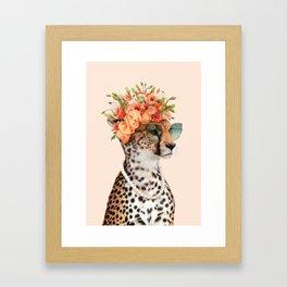 ROYAL CHEETAH Framed Art Print