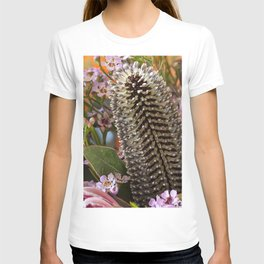Banksia and Protea blooms T-shirt