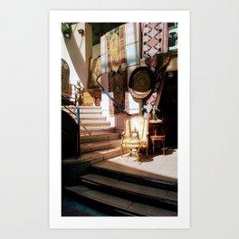 French Market Art Print