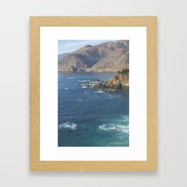 Bixby Bridge in Big Sur Framed Art Print