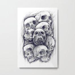 deadclub Metal Print