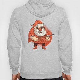 Santa & His Gun Hoody