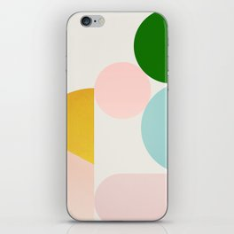 Abstraction_Minimal_Shapes_001 iPhone Skin