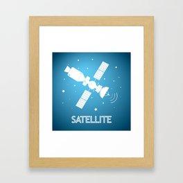 Satelite Framed Art Print