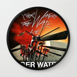 roger waters tour 2020 nikn3 Wall Clock