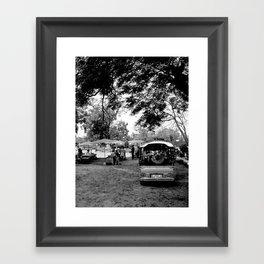 Tuk tuk Framed Art Print