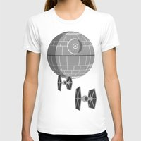 death star T-shirts featuring Star Wars Death Star by foreverwars