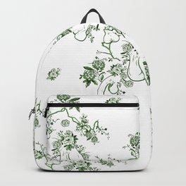 Penis Pattern GREEN Backpack